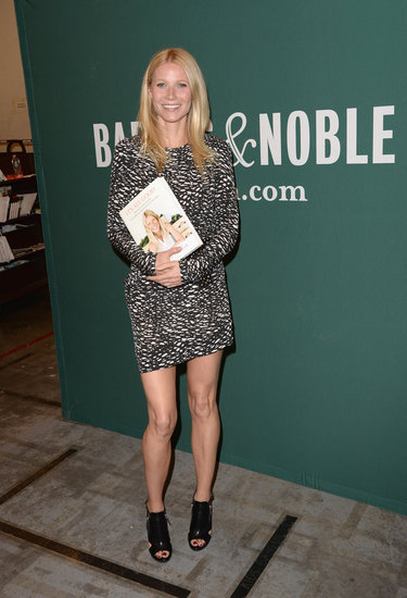 Gwyneth Paltrow donned an Isabel Marant dress to attend her cookbook signing at Barnes & Noble at The Grove.