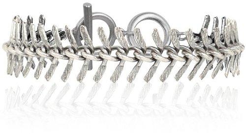 Silver Fishbone Bracelet