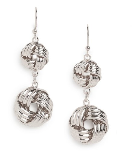 Silver Knot Drops