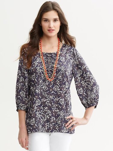 Cameron printed blouse