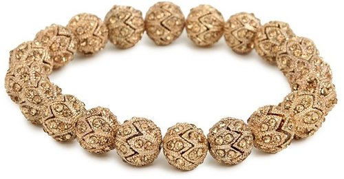 Gold Alexei Bead Bangle