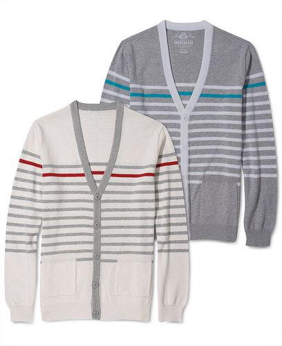American Rag Sweater, Lightweight Striped Cardigan