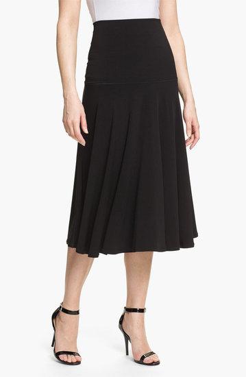 Eva Varro Paneled Midi Skirt