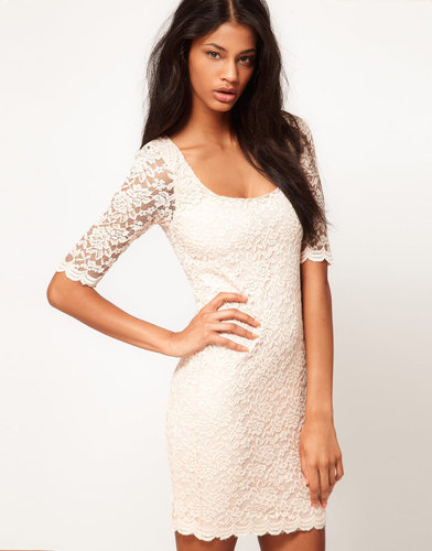 ASOS Body-Conscious Dress in Lace