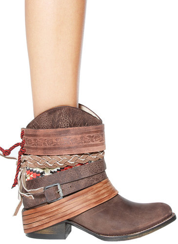 Freebird by Steven Mezcal Bootie in Brown - by Steve Madden