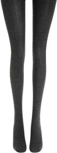 Wolford Winter Soft Logic Tights - Black Chine