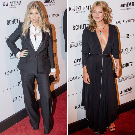 Kate Moss and Fergie Link Up For amfAR Gala in Brazil