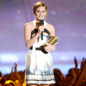 Emma Watson Wins Trailblazer Award at 2013 MTV Movie Awards