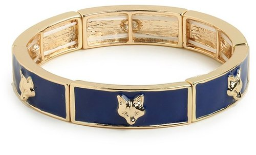 Navy Fox Bangle