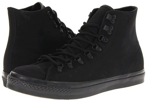 Converse - Chuck Taylor All Star Hiker Leather (Black) - Footwear