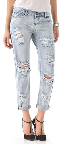 One by one tea spoon Awesome Distressed Jeans