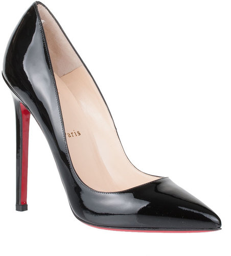 Christian Louboutin Pigalle 120 patent pump