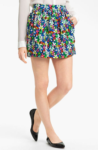 Kate Spade New York 'henrita' Print Skirt