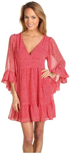 Betsey Johnson - Apple Print Dress (Red Multi) - Apparel