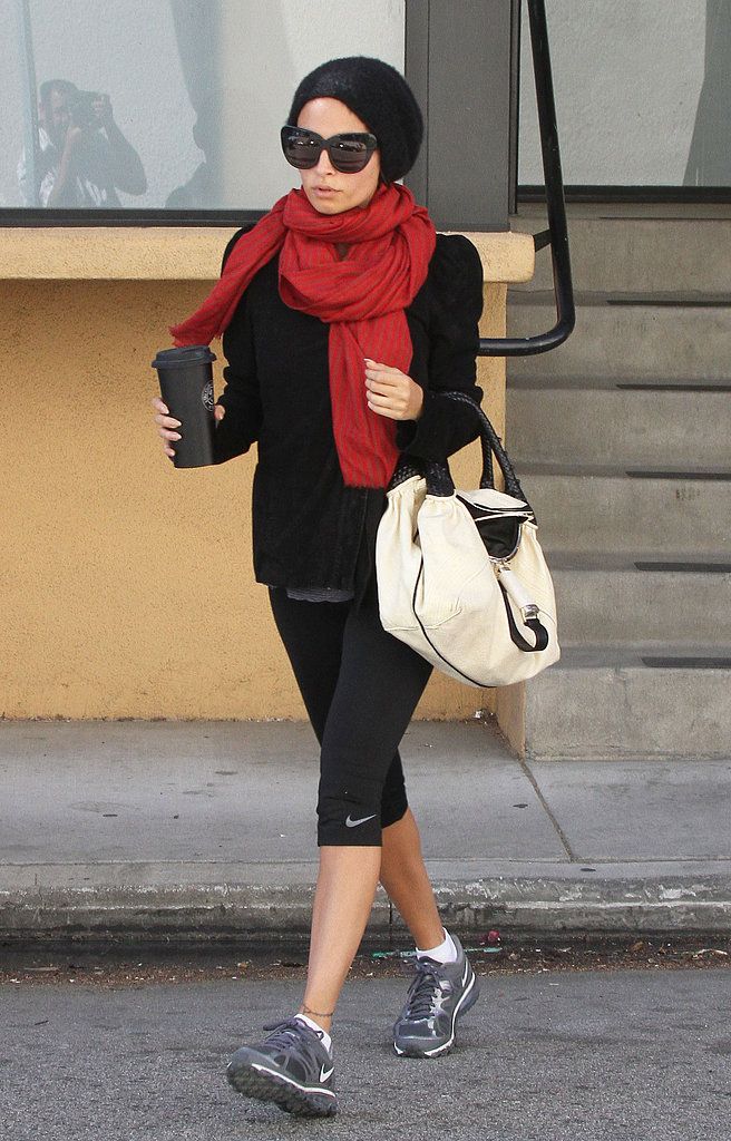 Nicole Richie Catches Up on Gym Time Following Her Caribbean Getaway