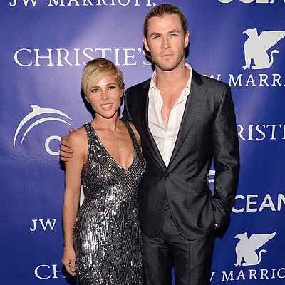 Chris Hemsworth and Elsa Pataky at Oceana Ball | Photos