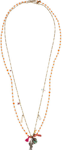 Isabel Marant Set of two embellished necklaces