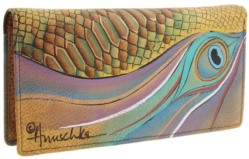 Anuschka Handbags - 1088 (Dancing Peacock) - Bags and Luggage