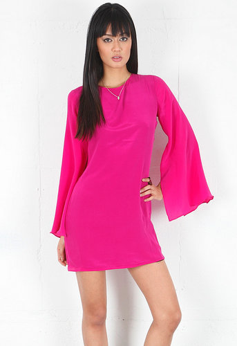 Dancing Queen Dress in Fuschia - by Backstage