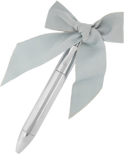 Lanvin Love bow-embellished pen