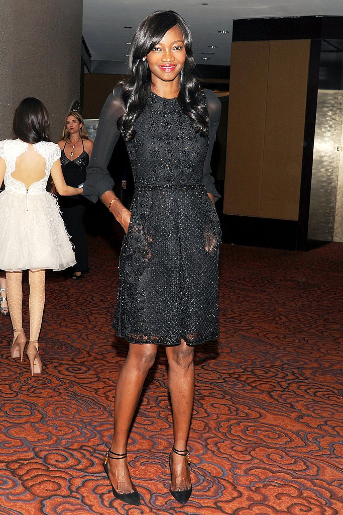 Oluchi Orlandi wore Valentino at the New Yorkers For Children 10th Anniversary Spring Dinner Dance in New York. Photo: Billy Farrell/BFAnyc.com