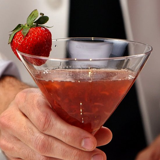 Strawberry Balsamic Cocktail Video
