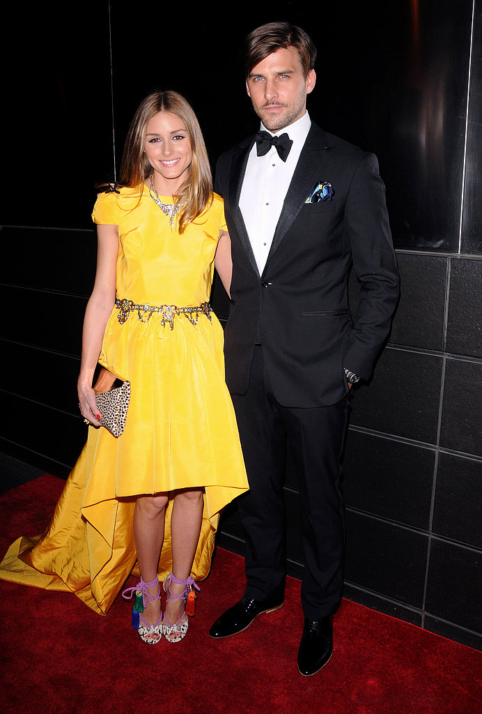Olivia Palermo wore a Katie Ermilio gown for the New Yorkers for Children dinn