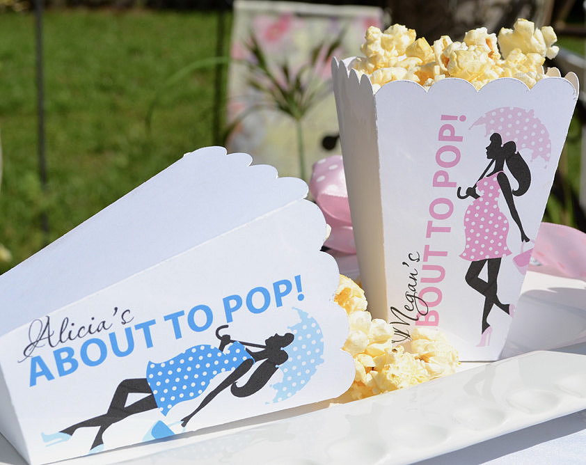 """""""About to Pop"""" Popcorn Boxes"""