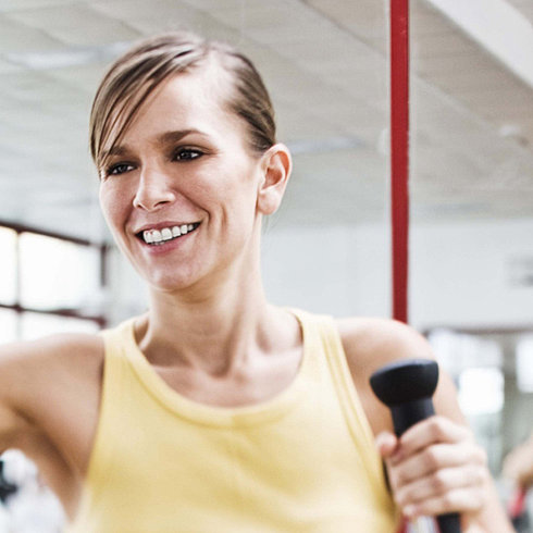 Print it Cardio: 40-Minute Elliptical Plan with Playlist
