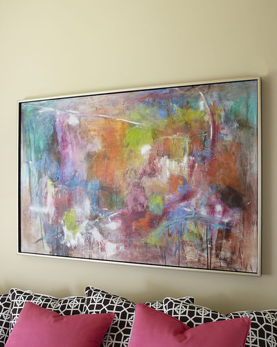 "John-Richard Collection John-Richard ""Seville"" Abstract Painting"
