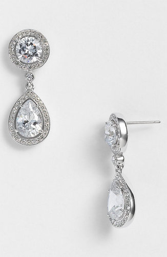 Nadri Crystal & Cubic Zirconia Drop Earrings (Nordstrom Exclusive)