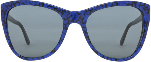 Stella McCartney Sunglasses in Leaf Print & Black