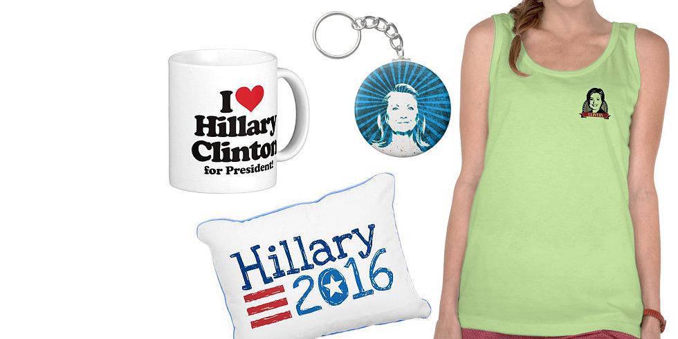 Hillary Clinton 2016 Swag