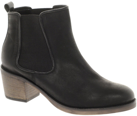 ASOS ALBUM Leather Ankle Boots
