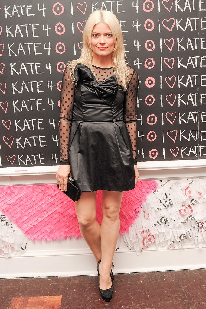 Kate Young wore Kate Young for Target at the Kate Young for Target launch event in New York. Photo: Neil Rasmus/BFAnyc.com