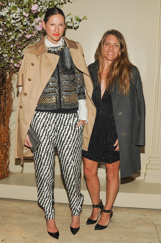Jenna Lyons and Courtney Crangi at the New Museum Spring Gala in New York. Photo: Neil Rasmus/BFAnyc.com