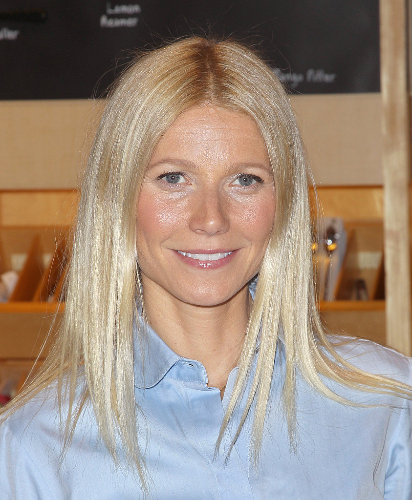 Gwyneth Paltrow attended a signing for her new book, It's All Good, in New York City. The 40-year-old star showed off her radiant skin with a touch of natural makeup.