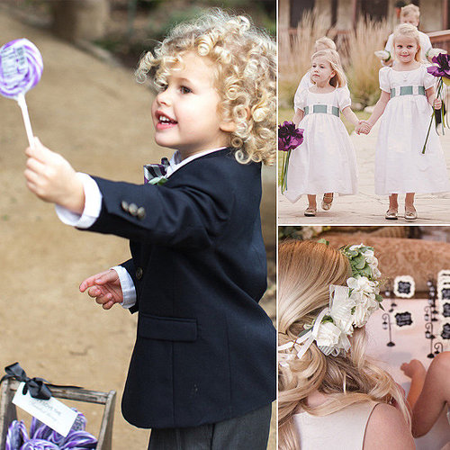 Wondering how to involve all the adorable offspring of friends and family into your wedding day? Head to POPSUGAR Moms for amazing ideas on how to make lil ones feel like they're part of the festivities, without letting the kids outnumber the adults in your wedding party.