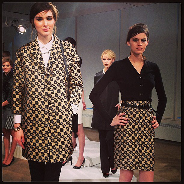 It's all about leopard print for Ann Taylor's Fall collection.