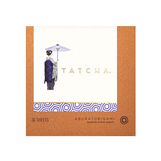 Inspired by Geisha beauty rituals, Tatcha Aburatorigami Japanese Beauty Papers ($12) are made from abaca leaf and gold flake for a luxurious way to stay shine-free and beautiful. We also included the special evening version in our April POPSUGAR Must Have box.