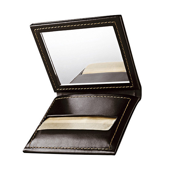 With Bobbi Brown's Blotting Papers ($20), you can freshen up on the go with ease and style. The faux-leather case also holds a mirror for added convenience, and once you've used up all the papers, you can just get a refill.