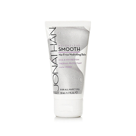 The travel-friendly Jonathan Product Weightless Smooth No-Frizz Hydrating Balm Mini ($8) is a frizz-fighting balm that hydrates hair, blocks it from humidity, and also protects from heat styling.