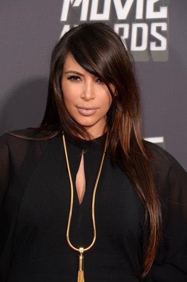 Pictures of Kim Kardashian at 2013 MTV Movie Awards