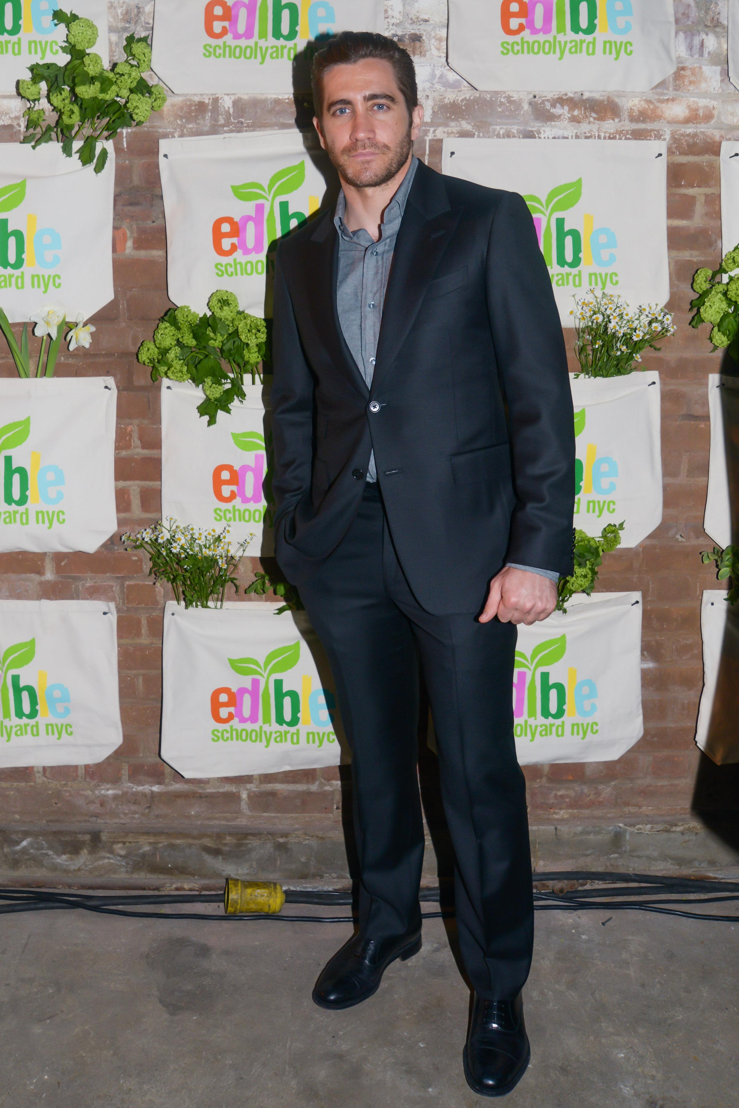 Jake Gyllenhaal Shows His Support at a Spring Benefit in Harlem
