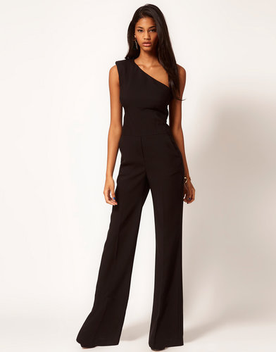 ASOS Jumpsuit with Extreme Shoulder