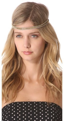 Dauphines of new york The Golden Child Headband
