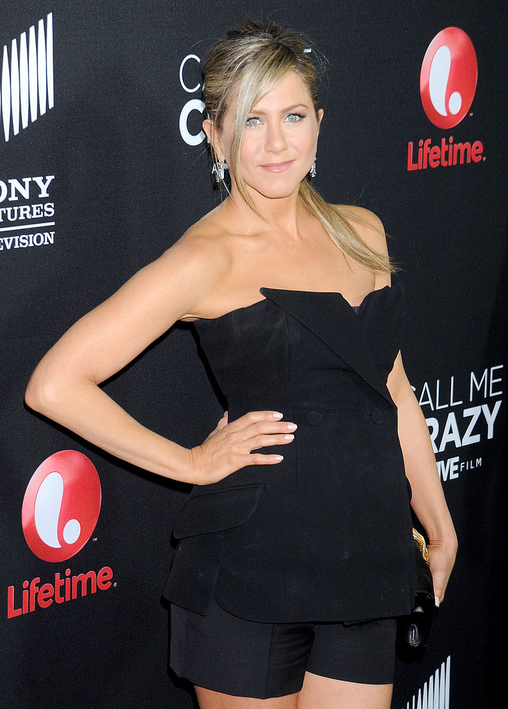 Jennifer Aniston Screens New Film and Admits She Doesn't Have a Wedding Dress Yet