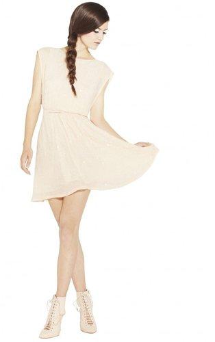Lisette Sequin Elastic Waist Dress