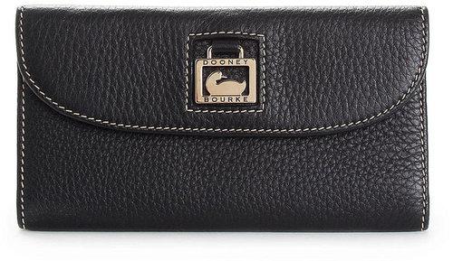 Dooney & Bourke Handbag, Portofina Leather Continental Clutch Wallet