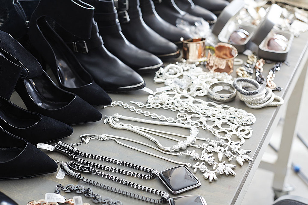 Accessories were key for the styling of the shoot, clearly!